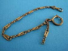 Antique pocket watch chain in metal (2)