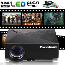 1500 lumen LED Projector HD 1080P home theater Cinema for Smartphone Tablet PC