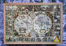 Piatnik 4000 piece puzzle, 'Antique Map of the World' - Very Rare !!