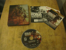 Medal of Honor Warfighter Limited Edition - Sony Playstation 3 PS3 - Game, Case,