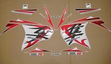 GSX 1300R Hayabusa 2008 custom chrome red full decals stickers graphics set kit