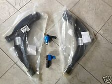 NISSAN MICRA K11 (93-98) TWO FRONT LOWER WISHBONE SUSPENSION ARMS+2 TRACK ENDS
