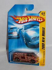 Hot Wheels 2008 New Models #7 Custom '77 Dodge Van Mtflk Brown
