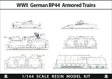 1/144 RESIN KITS  WWII German BP44 Armored Train