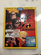 The Incredibles (Blu-ray/DVD, 2011, 4-Disc Set) With Slipcover