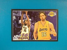2009-10 Panini NBA Basketball n.283 Pau Gasol Los Angeles Lakers