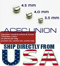 Metal Armor Detail-Up Φ 3.5 ~ 4.5 mm Screws Parts For MG HG Gundam U.S.A. SELLER