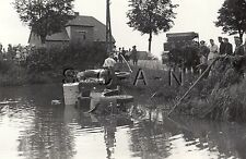 WWII Ger Large RP- Truck KFZ- Crashed into Water- Unit Symbol- How Do We Move It