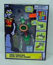 Teen Titans Turbo Terrestrial Deluxe Battling Machine Vehicle BanDai NIP S142-5