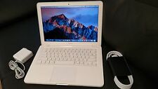 "Apple MacBook White.13"" a1342. MC207ll/A 250GB HDD. NEW 8GB RAM.OS X Sierra 2016"