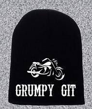 GRUMPY GIT BEANIE HAT GIFT BIKER GIFT