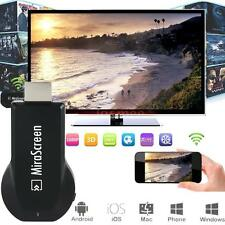 1080P MiraScreen WiFi Display Receiver AV Dongle DLNA Airplay Miracast HDMI G32H