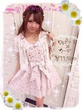 Brand New Liz Lisa 大宮 アルシェ Limited Flower print lace Dress Pink