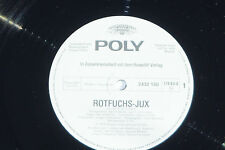 ROTFUCHS-JUX - (Jan P. Schniebel) LP 1975 Poly Promo Archiv-Copy mint