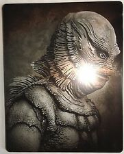 CREATURE FROM THE BLACK LAGOON Opened/Imperfect Steelbook BLU-RAY 3D and 2D