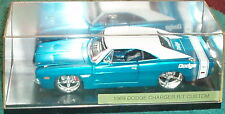 MAISTO 1969 DODGE CHARGER CUSTOM HARDTOP 1/24 w DISPLAY CASE