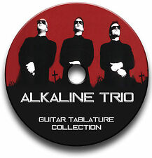 ALKALINE TRIO PUNK ROCK GUITAR TABS TABLATURE SONG BOOK SOFTWARE CD