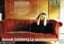 Coupure de Presse Clipping 2002 (4 pages) Anouk Grinberg