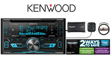 Kenwood DPX592BT CD Receiver w/ Bluetooth & SXV300v1 SiriusXM Satellite Radio