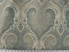 Drapery Upholstery Fabric Kravet Designer Linen Lg. Scale Damask - Seafoam