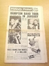 MELODY MAKER 1957 OCTOBER 5 BILL MCDONALD JAYNE MANSFIELD JAZZ BIG BAND SWING