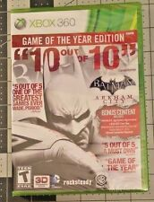 Batman: Arkham City -- Game of the Year Edition (Microsoft Xbox 360, 2012)
