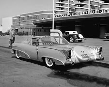 1955 Motorama Cadillac Show Car Parked in Front of the Pan Pacific Auditorium