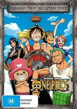 One Piece (Uncut) Treasure Chest Collection 3 NEW R4 DVD