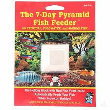 Api 7 Day Holiday Blocks Tropical Fish Food Feeder Vacation Food Discus Platty