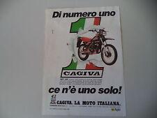 advertising Pubblicità 1983 MOTO CAGIVA SXT 125