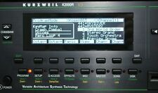 Yamaha TG-77 SY-77 SY-99 Kurzweil K2000 K2000R Graphic Display !