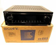 Sony STR-G1ES AM / FM Stereo Receiver Amplifier Amp Surround Vision Touch