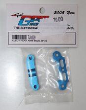 GPM - Alloy Rear Arm Bulk - bleu  2 pièces - TJA009