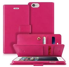 Dual Flip Leather book Double wallet Case cover for iPhone / Galaxy /LG / Note
