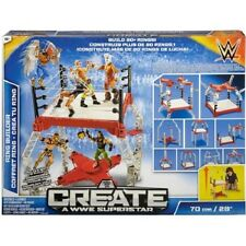 NEW WWE Create a Superstar Ring Builder Mattel