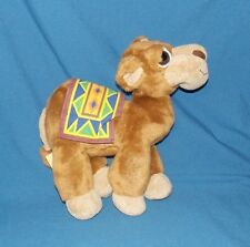 Russ Berrie OASIS CAMEL Tan Plush Big Eyes Dubai Stuffed Animal poseable legs