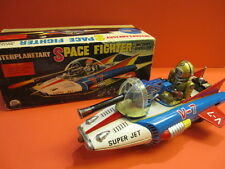 ALL ORIGINAL INTERPLANETARY SPACE FIGHTER + ORIGINAL BOX TN JAPAN 1963