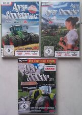 Agro simulateur 2013 + agro 2012 + agro 2011 ferme collection jeux pc
