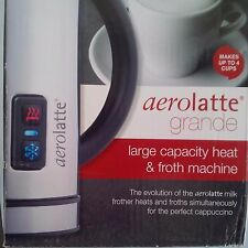 aerolatte Grande Automatic Hot or Cold Milk Frother and Cappuccino Foam Maker