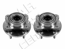 FOR CHRYSLER VOYAGER GRAND VOYAGER 2 FRONT WHEEL BEARING HUB ASSEMBLY KIT PAIR
