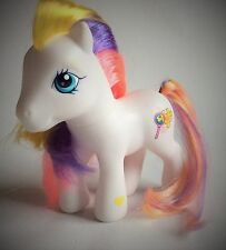 MY LITTLE PONY – PUZZLEMINT – WHITE PONY – YELLOW/ PINK/ PURPLE MANE & TAIL