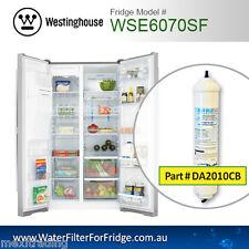 WSE6070SF Westinghouse Fridge Model DA2010CB FROM ORIGINAL MANUFACTURED