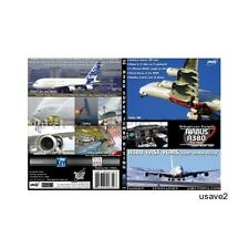 """AIRBUS A380 Aircraft FIRST YEARS """"Super Jumbo Rising"""" DVD Video-Brand New Sealed"""
