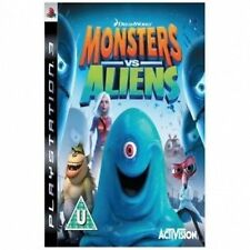 Monsters vs. Aliens (Sony PlayStation 3, 2009) PAL Boxed complete PS3