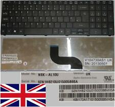 CLAVIER QWERTY UK ACER AS5741G AS5810T LM85 NSK-AL10U 9Z.N1H82.10U KB.I170A.171