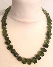 LOLA ROSE Bryson Semi Precious Emerald Green Crystal Quartzite 65cm Necklace