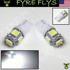 White LED License Plate Light Bulbs Bright 168 194 2825 HID Xenon Lamps  b#M1