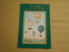 LOT OF 4 AMBASSADOR FOR A SPECIAL UNCLE BIRTHDAY CARDS
