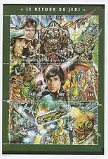 "STAR WARS RETURN OF THE JEDI 5"" x 7"" REPUBLIQUE DU MALI 1997 MNH STAMP SHEET"