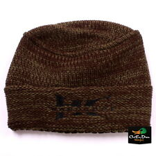 NEW HARD CORE WATERFOWL KNIT BEANIE TOBOGGAN GREEN MOSS WITH DOG TAG LOGO